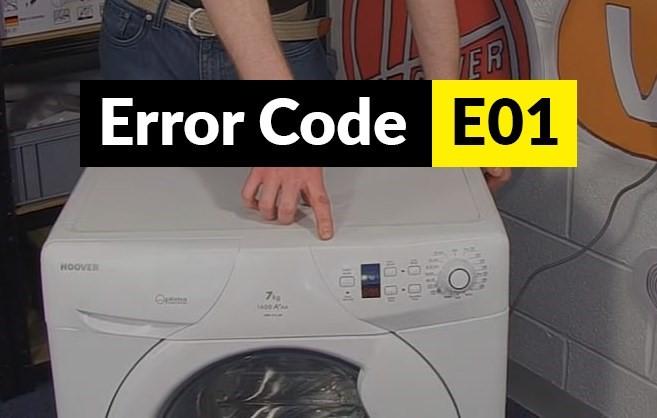ارور ماشین لباسشویی هوور