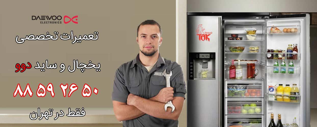 تعمیر یخچال دوو در ولیعصر