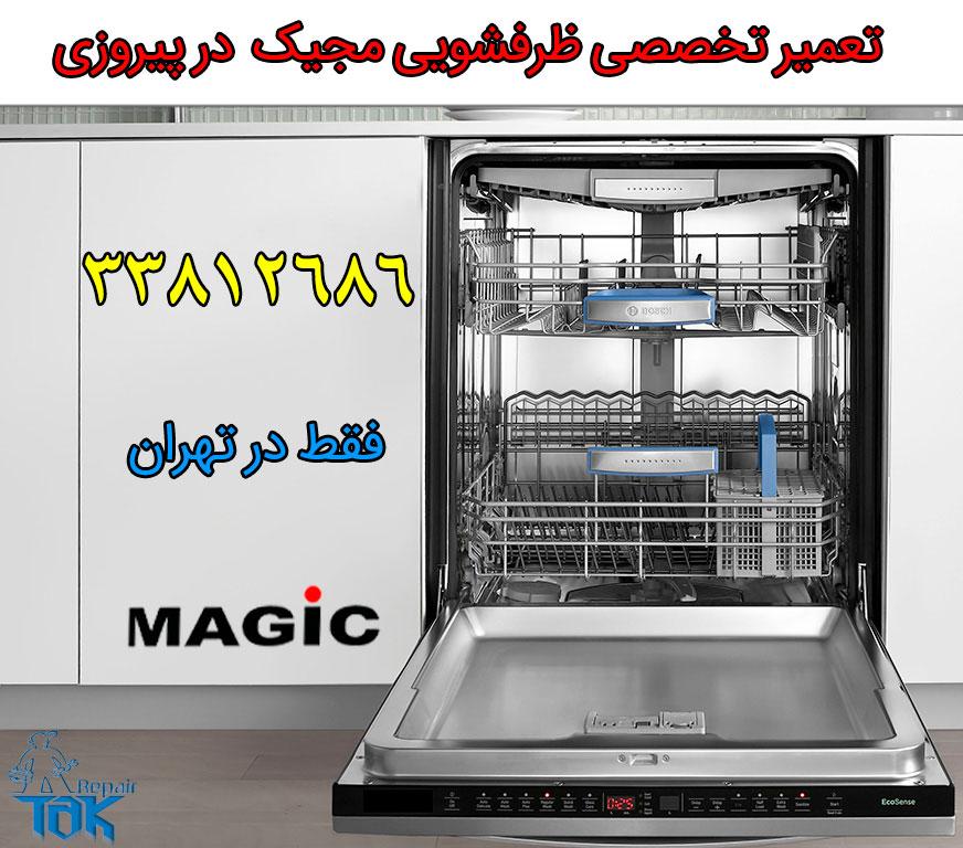 تعمیر ظرفشویی مجیک در پیروزی