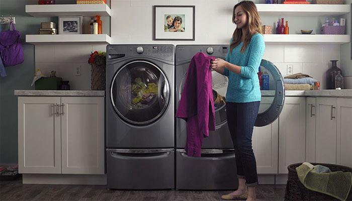 مراقبت از لباسشویی