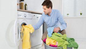 عدم تخلیه لباسشویی
